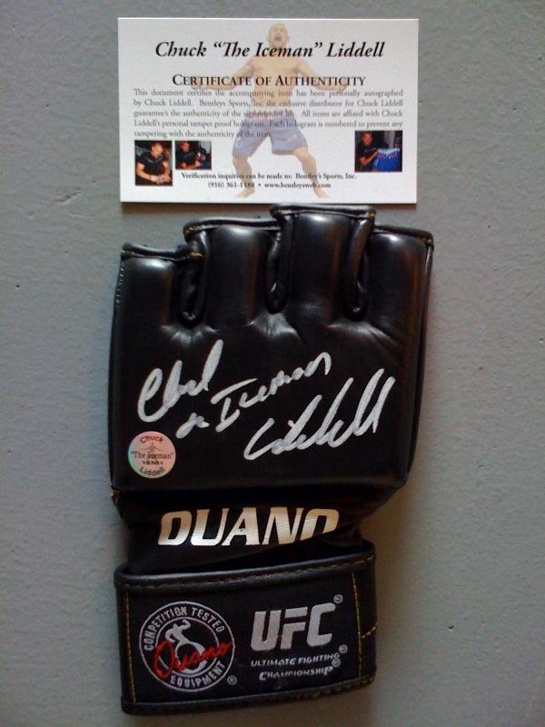 Autographed Glove