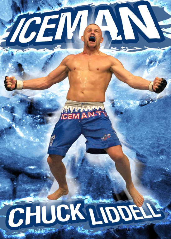 Signed Iceman Poster #2