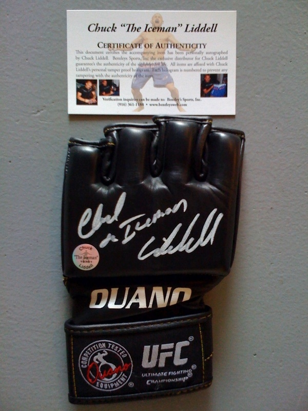 Signed Fight Glove
