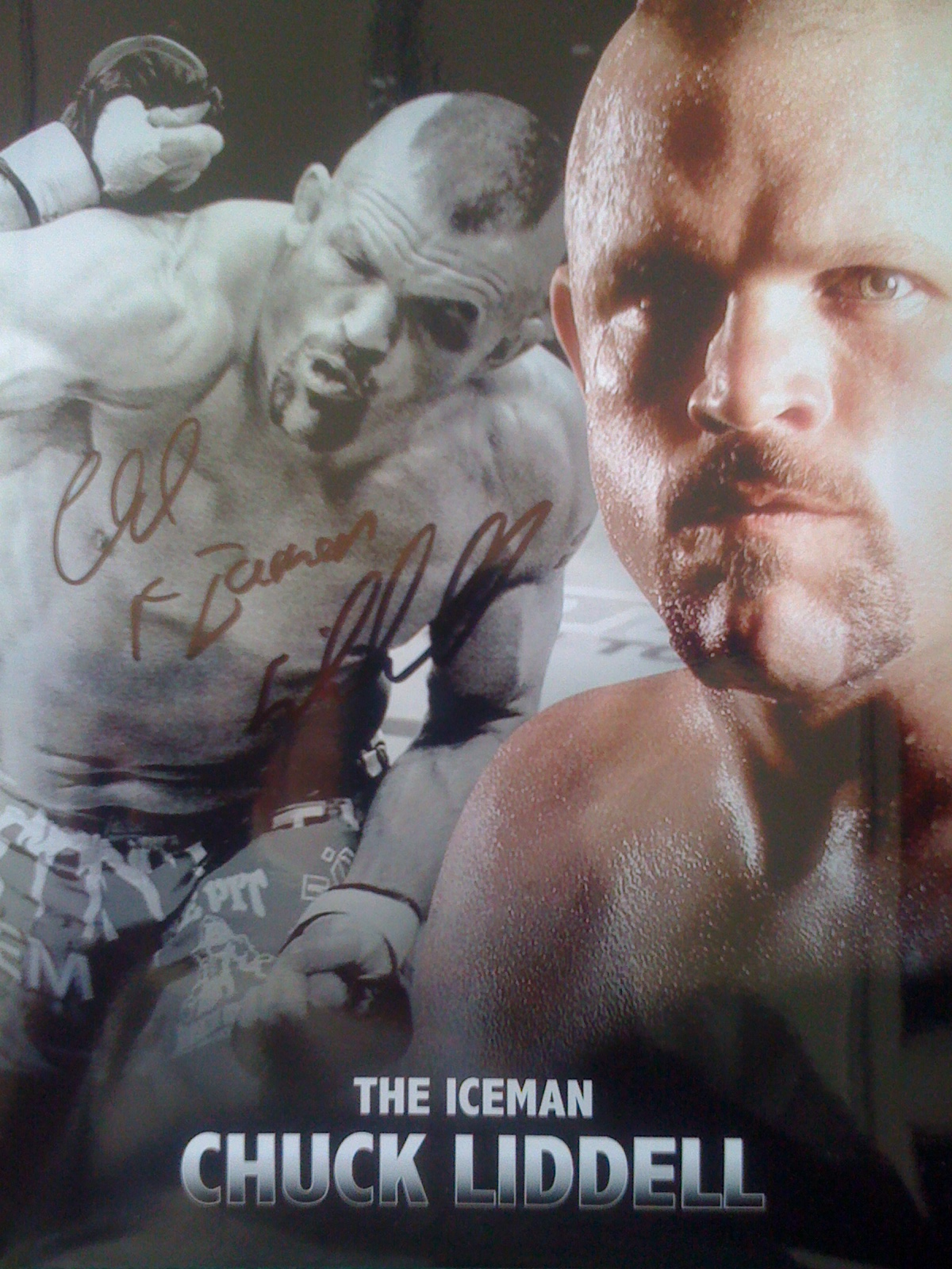 Signed 8×10 Poster #2